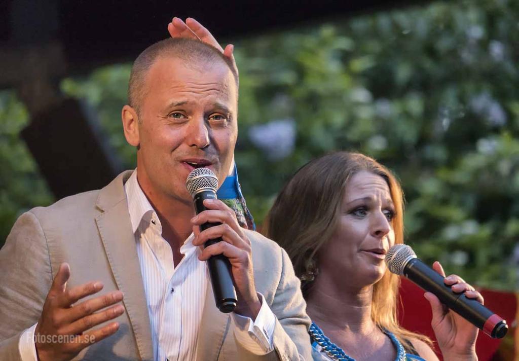 Niklas Andersson och Anna Werner