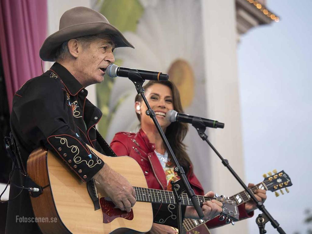 Doug Seeger och Jill Johnson