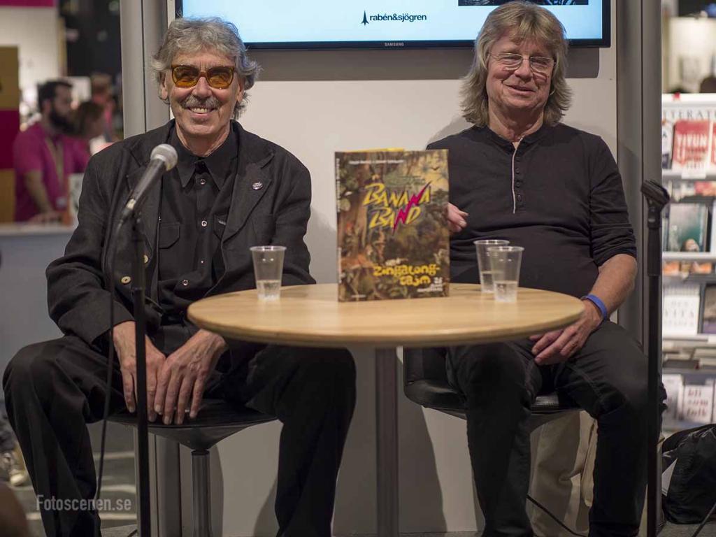 Lasse Åberg och Janne Schaffer