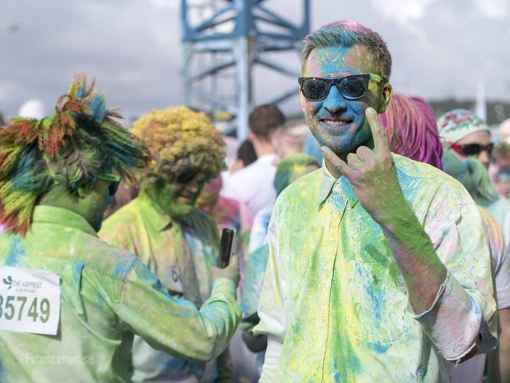 The Color Run Göteborg 2015 11