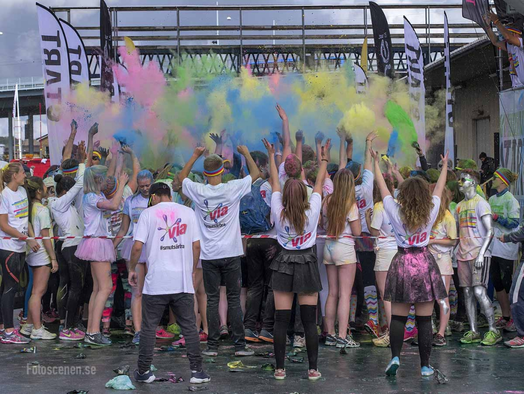 The Color Run Göteborg 2015 12