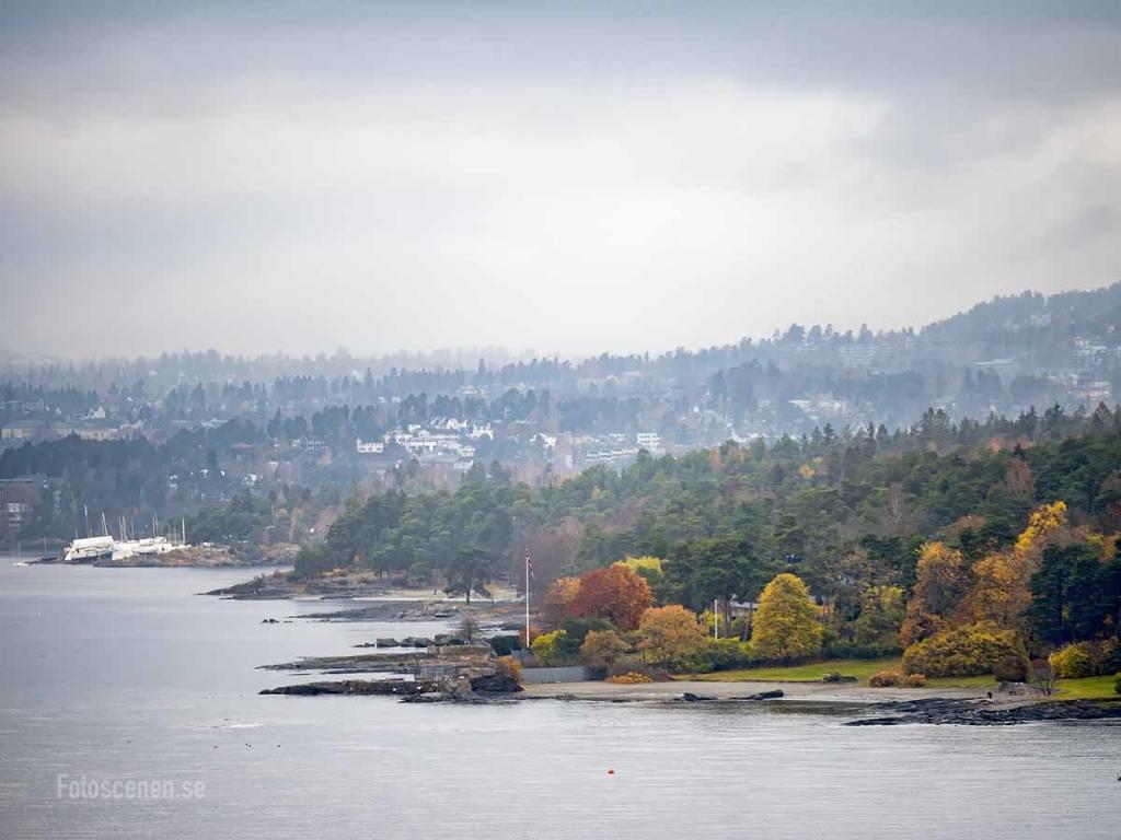 Fjorden mot Oslo