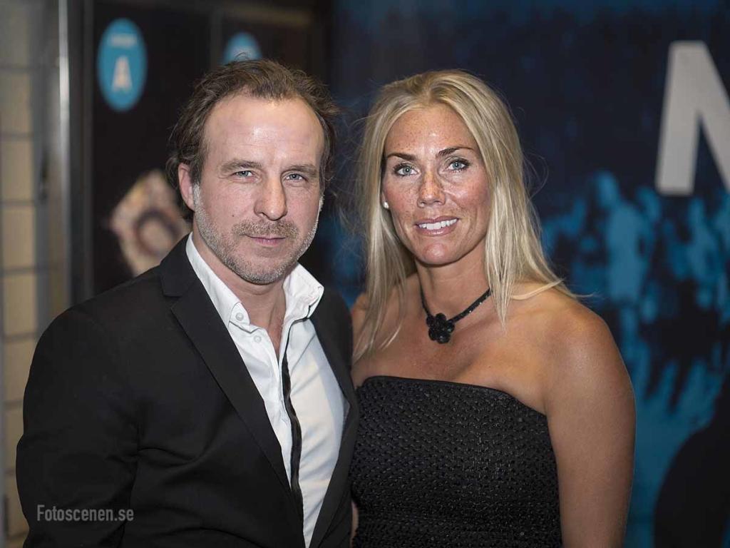 Musikern Patrik Isaksson och golfprofilen Marlene Hedblom