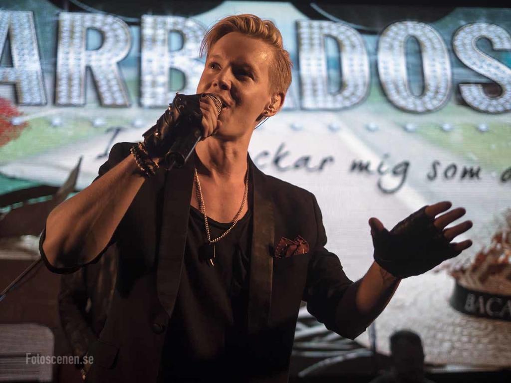 Schlagerkvällen Göteborg 2016 05 Barbados