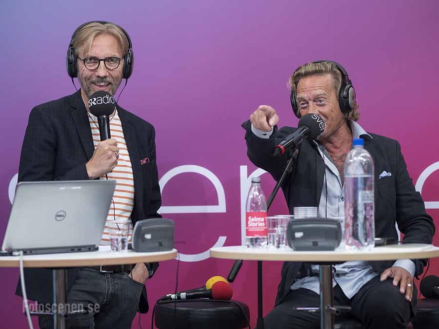 Erik Blix och Björn Ranelid