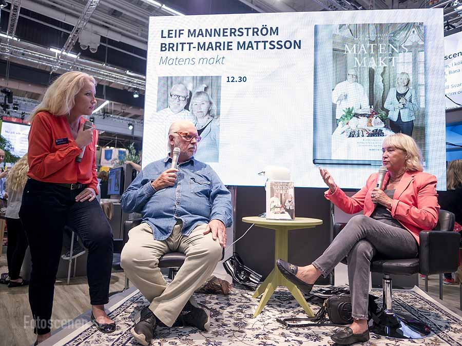 Leif Mannerström och Britt-Marie Mattsson